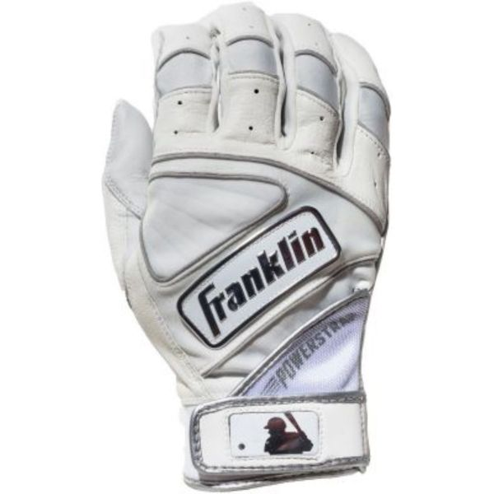 Franklin Adult Power Strap Chrome Batting Gloves