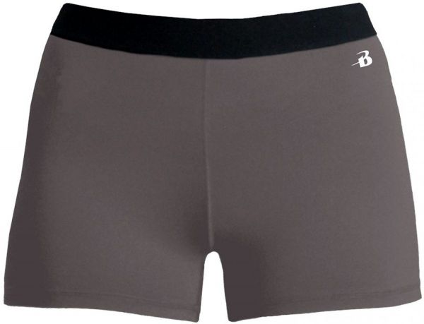 Badger Girls' Pro Compression Short