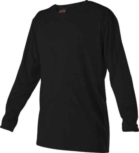 Alleson Youth Color Block Long Sleeve Tech Shirt