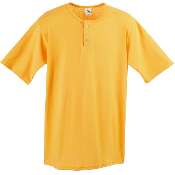 Augusta Adult Two-Button Baseball Jersey