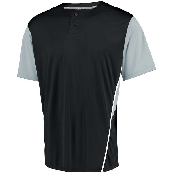 Russell Performance Two-Button Color Block Jersey