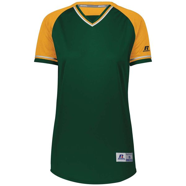 Russell Ladies Classic V-Neck Jersey