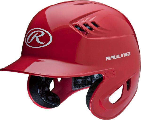 Rawlings Velo Clear Coat Batting Helmet