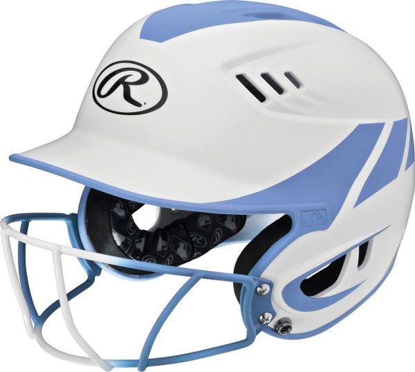Rawlings Velo Home Fastpitch Batting Helmet with Mask
