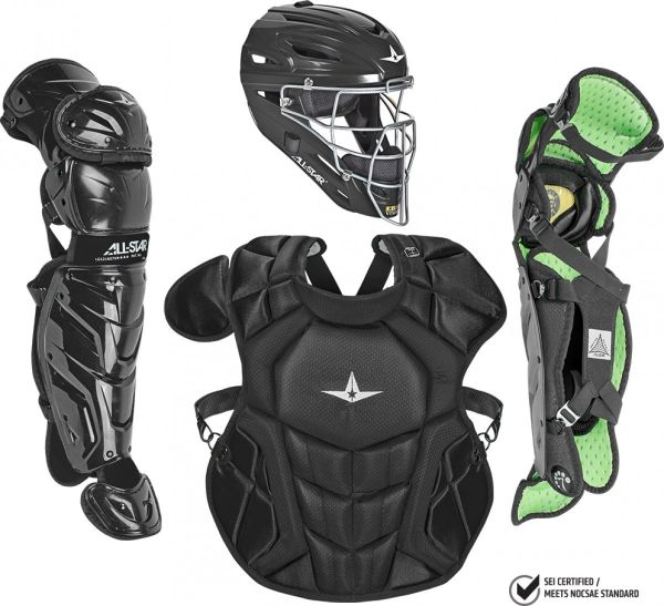 All Star Intermediate Nocsae System7 Axis Pro Catcher's Set