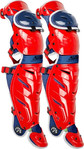 All-Star Adult System 7 Axis USA Catcher's Leg Guards