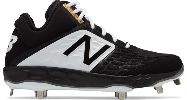 New Balance Men's 3000v4 Mid Metal Baseball Cleats