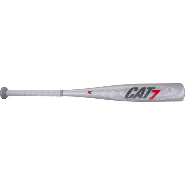 MARUCCI 2021 CAT7 SILVER JR BIG BARREL -10 USSSA BASEBALL BAT
