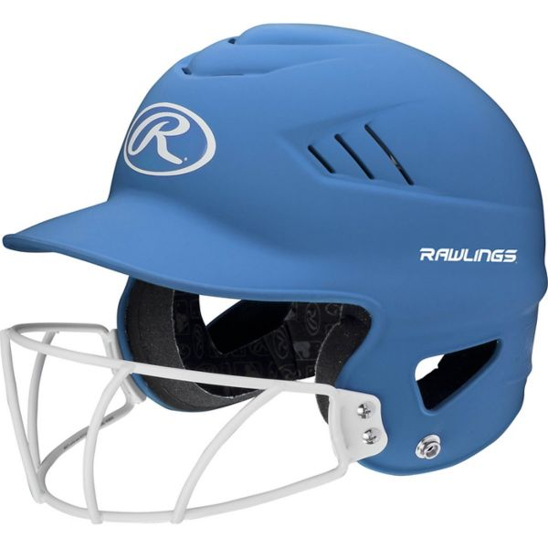 Rawlings Highlighter Fastpitch Batting Helmet with Mask