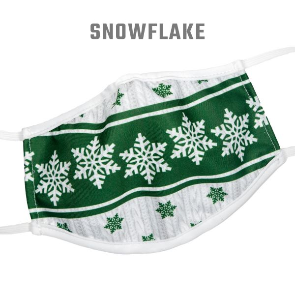 Badger Holiday 3-Ply Face Mask