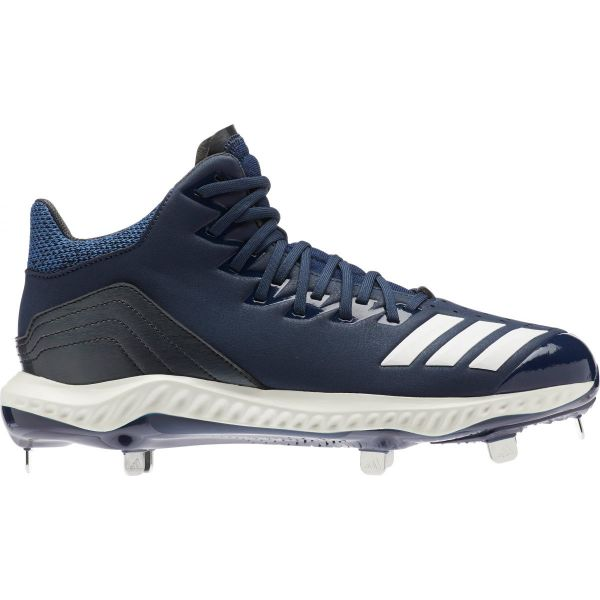 Adidas Men's Icon 4 BOUNCE Mid Metal Baseball Cleats