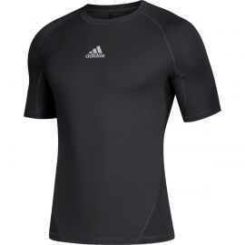 Adidas Youth Alphaskin Short Sleeve Compression Shirt