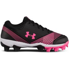 Under Armour Girls Glyde Jr Rubber Molded Softball Cleats