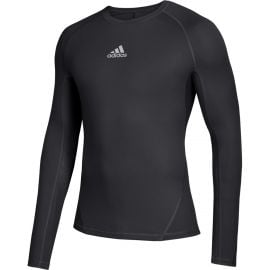 Adidas Youth Alphaskin Long Sleeve Compression Shirt