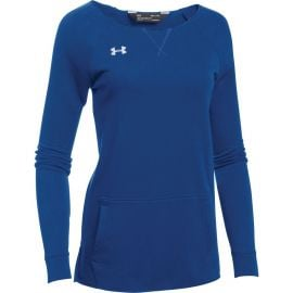 Under Armour Women's Hustle Fleece Crew
