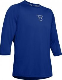 Under Armour Youth Baseball Utility 3/4 Shirt