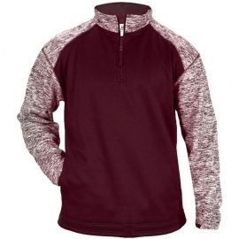 Badger Men's Blend Sport Fleece 1/4 Zip Pullover