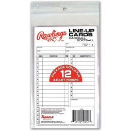 Rawlings Line-Up Cards