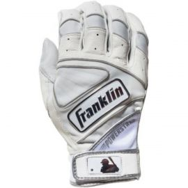 Franklin Adult Power Strap Chrome Batting Gloves