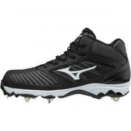 Mizuno Women's Advanced Sweep 4 Mid Metal Softball Cleats