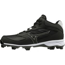 Mizuno Men's 9-Spike Advanced Dominant TPU Mid Molded Baseball Cleats