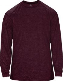 Badger Men's Tonal Blend Long Sleeve Shirt