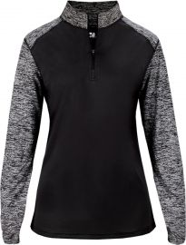 Badger Women's Sport Blend 1/4 Zip Pullover