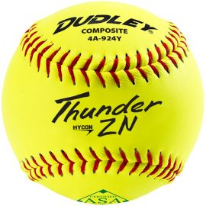 "Dudley 11"" Thunder Hycon ZN ASA Composite Slowpitch Softball"