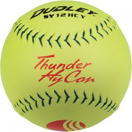 """Dudley 12"""" Thunder Hycon USSSA Synthetic Slowpitch Softball"""
