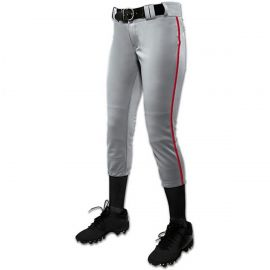 Champro Girl's (Youth) Tournament Fastpitch Pant with Piping