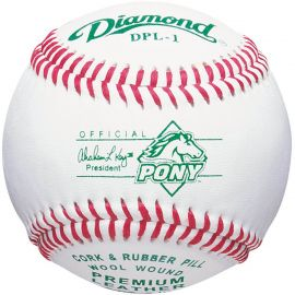 Diamond Competition Grade Pony League Baseball (Dozen)