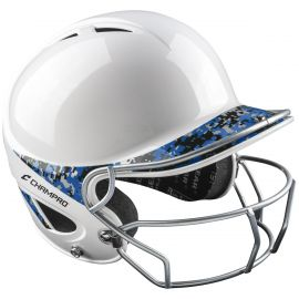 Champro Gem 2-Tone Fastpitch Batting Helmet w/ Facemask-H4S