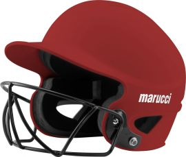 Fastpitch Batting Helmet with Facemask