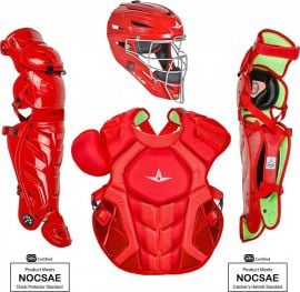 All Star Adult Nocsae System7 Axis Pro Catcher's Set