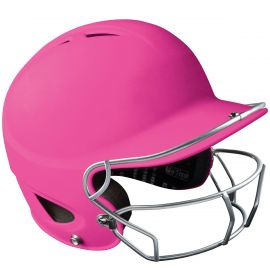 Champro T-Ball Matte Neon Fastpitch Batting Helmet w/ Mask
