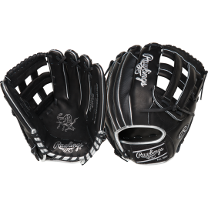 "Rawlings Heart Of The Hide ColorSync 4.0 Limited Edition 12.75"" Baseball Glove (Black)"