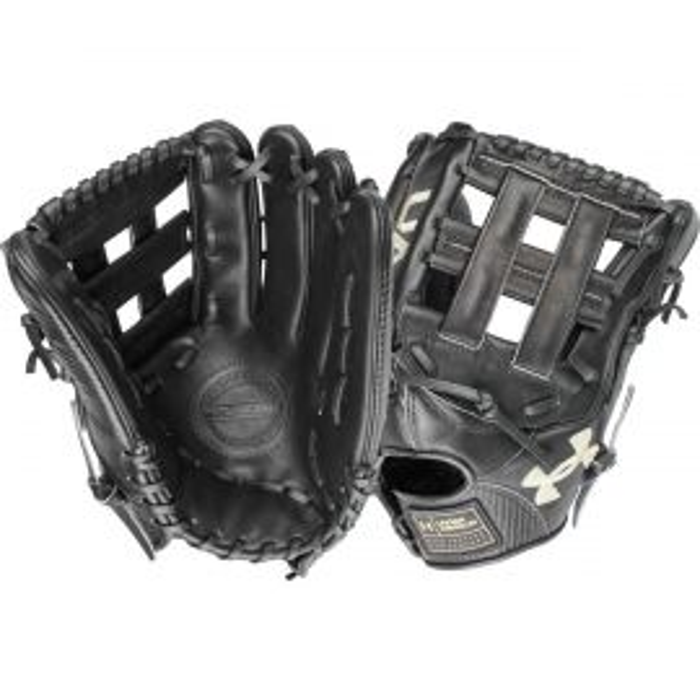 "Under Armour Flawless Series Black 12.75"" Baseball Glove"