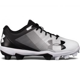 Under Armour 1229848 Youth Leadoff IV Low JR Black//Cerise