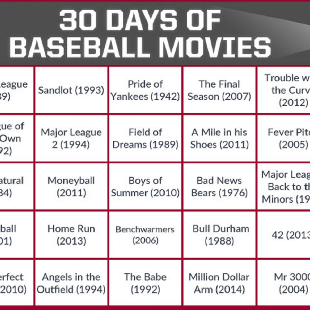 30 Baseball Movies In 30 Days