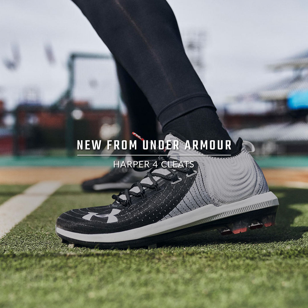 Under Armour Harper 4 Cleats