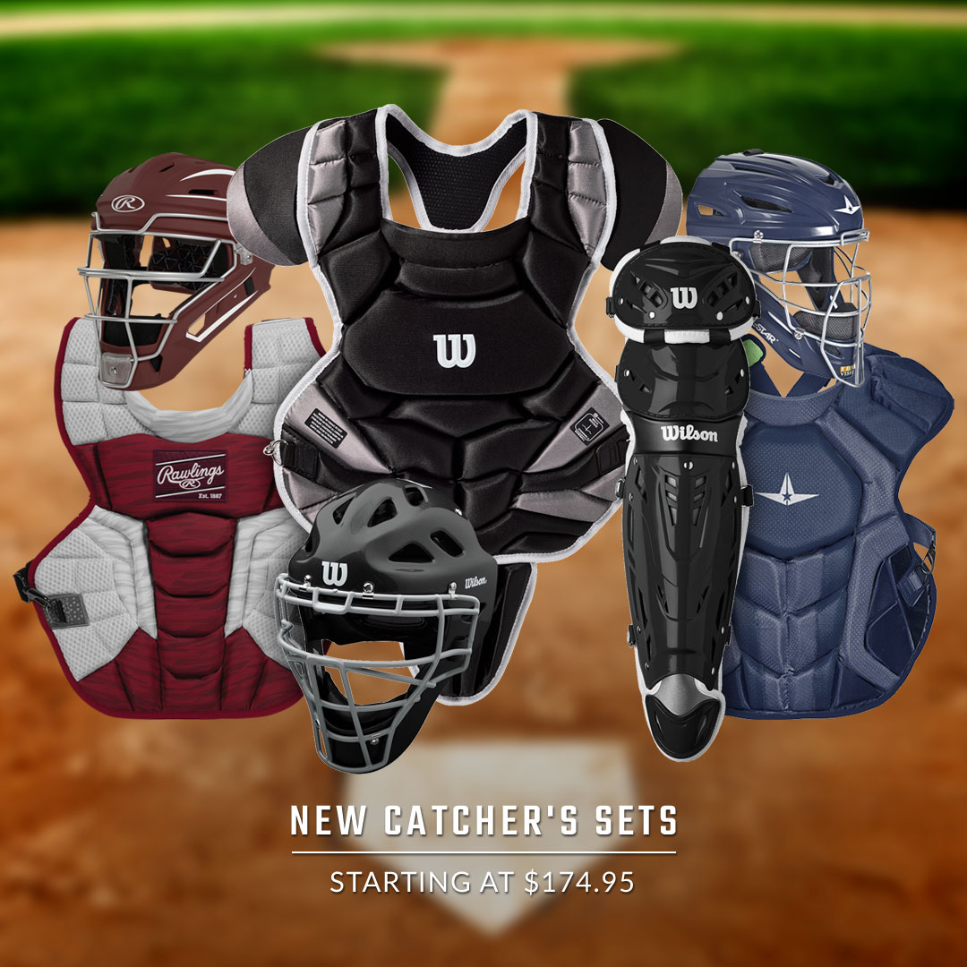 Baseball Catcher's Sets