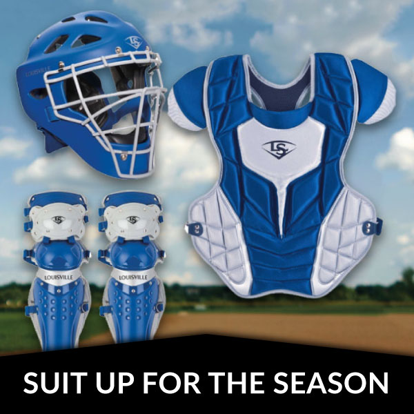 Catcher's Suit Up For The Season