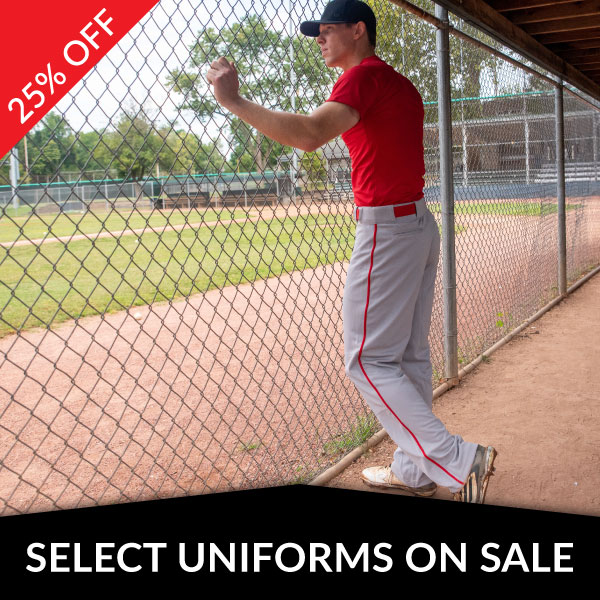 Select Baseball Uniforms On Sale