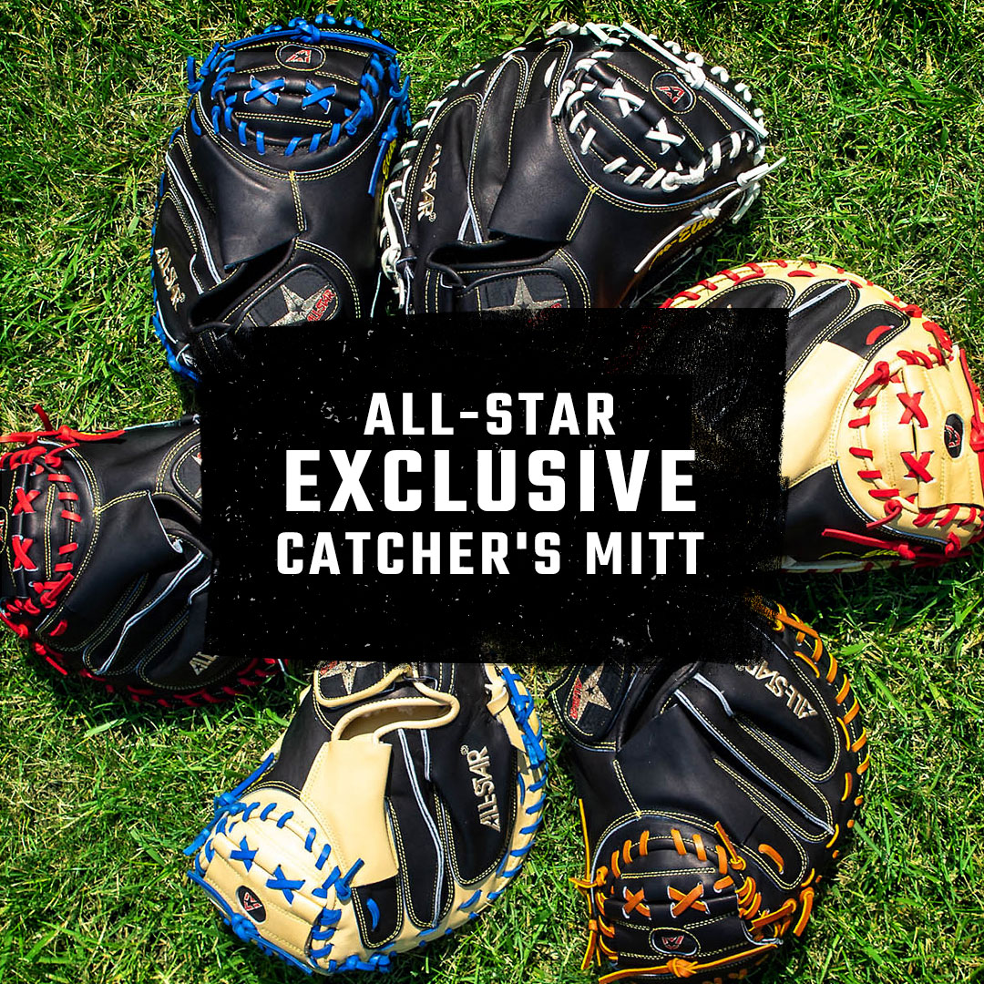 "All-Star Pro-Elite Series Exclusive 33.5"" Baseball Catcher's Mitts"