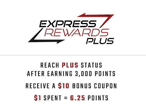Express rewards Plus